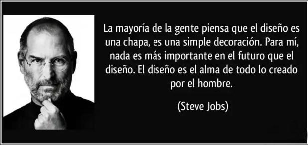Steve Jobs sobre el diseño