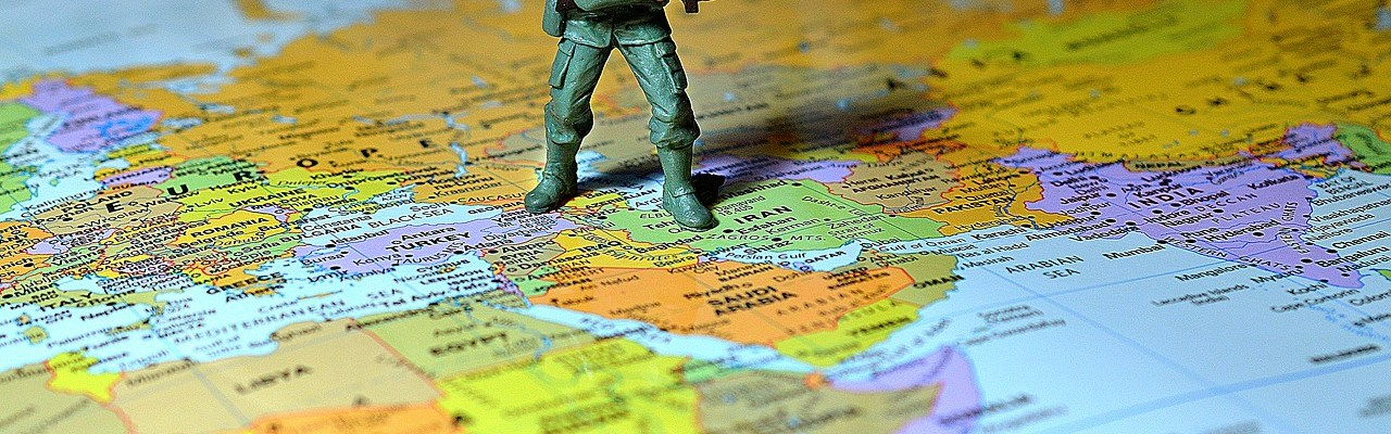 soldier map middle east army war 1864294