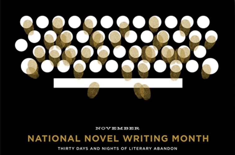 typewriter poster detail 01 National Novel Writing Month (NaNoWriMo 2015)