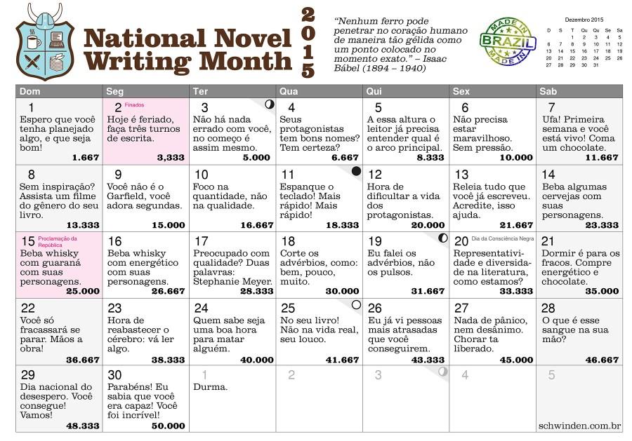 nano2015 20 dias para escrever um livro