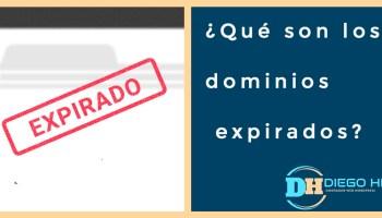 ¿Qué son los dominios expirados?