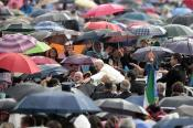 Papa Francisco lluvia
