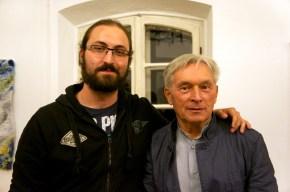 Me with Maestro Zygmunt Krauze