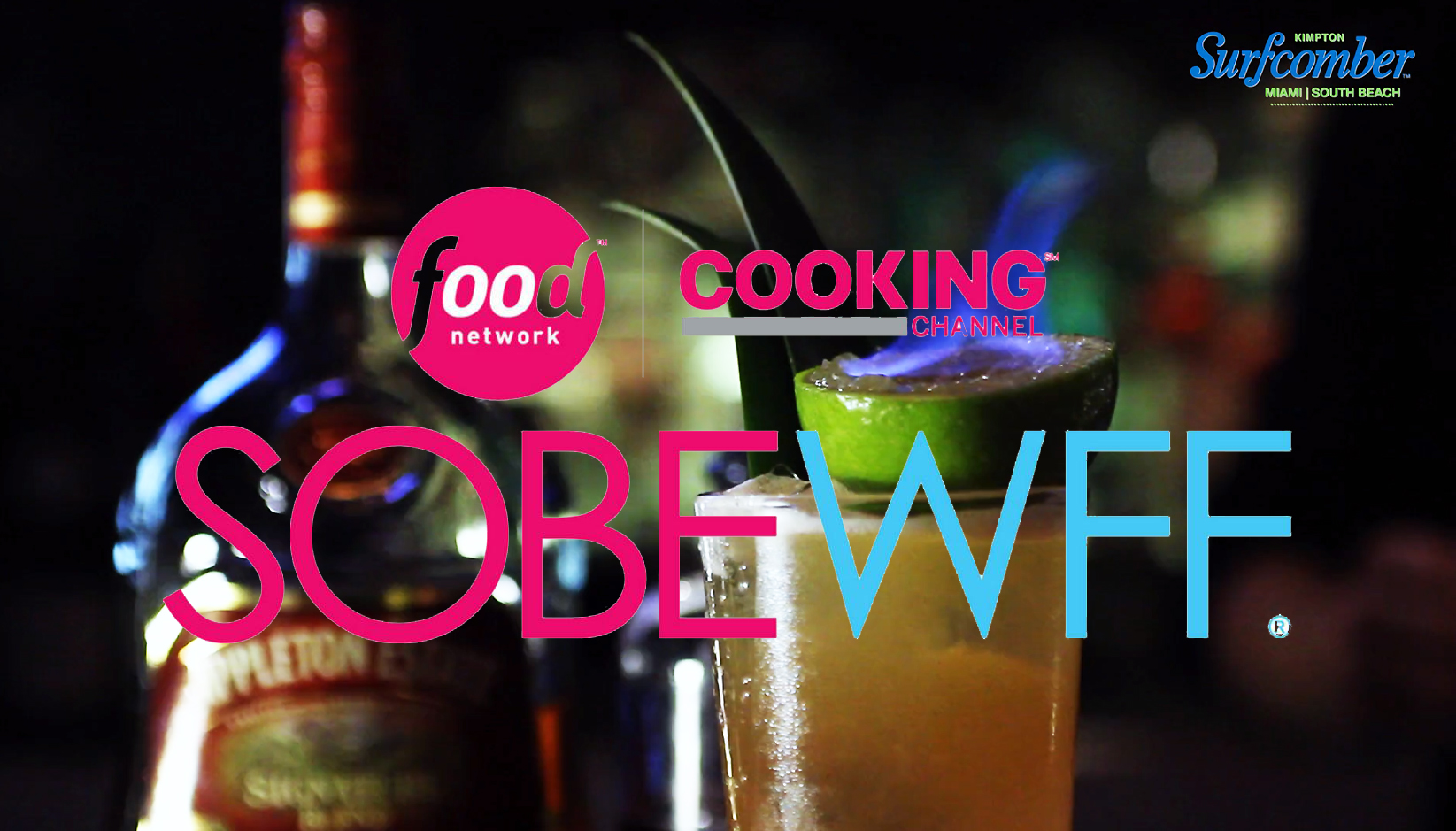 Video Hightlites for Tiki Showdown with Robert Irvine at Wine and Food Festival Miami Beach