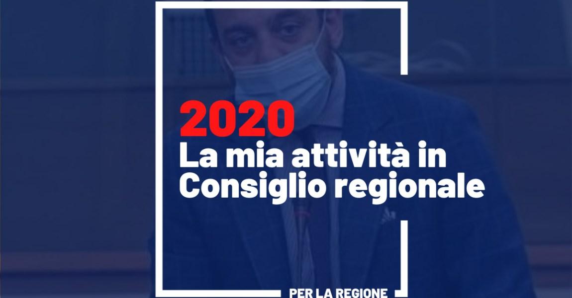 2020: un anno in Consiglio Regionale del Piemonte