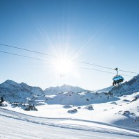 Obertauern, eines der schneesichersten Skigebiete von Österreich