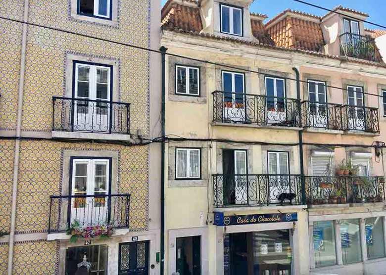 Azulejos prägen das Stadtbild Lissabons.