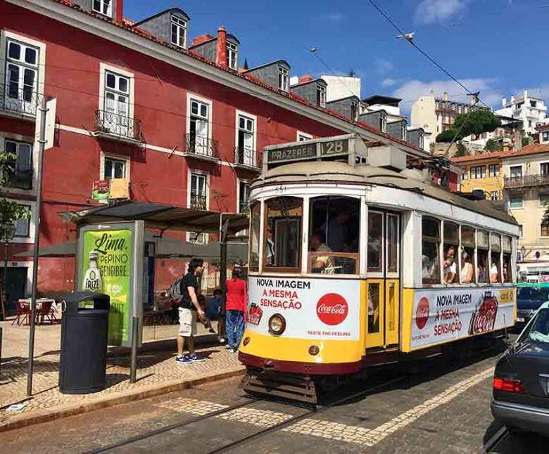 Lissabons Tram 28