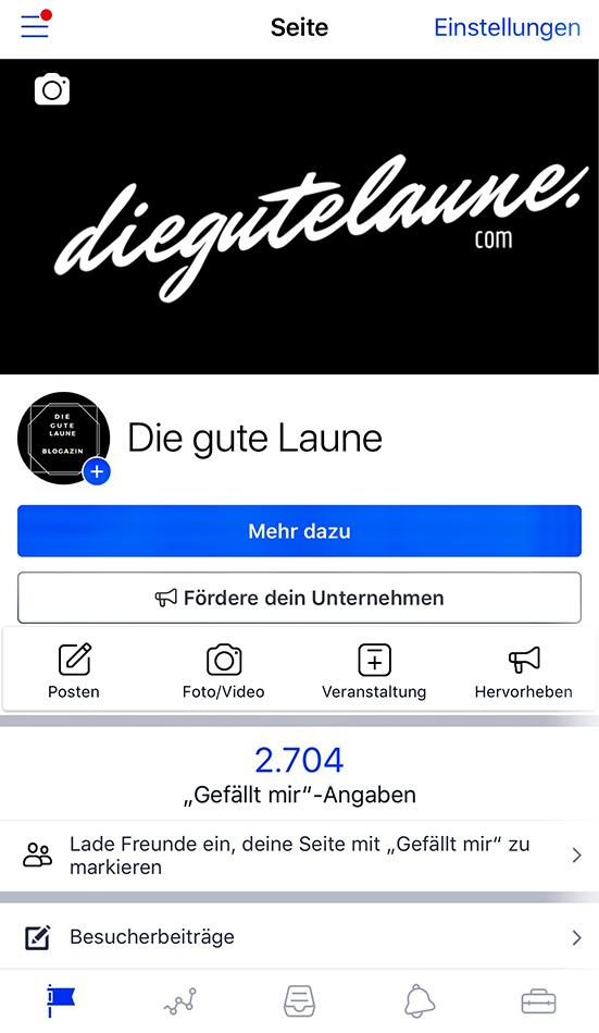 """Wird die Seite am Handy via der Facebook-Seiten-App aufgerufen, befindet sich der Bereich """"Freunde einladen"""" direkt unter der Anzahl der bestehenden """"Gefällt mir""""-Angaben."""