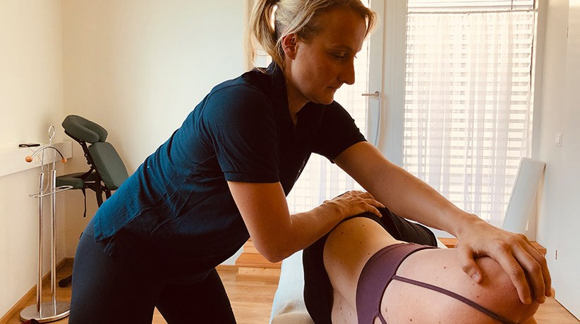 Physiotherapeut Verena Wagner von VIVO Physio in Hallwang.
