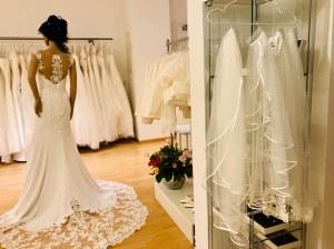 In der Salzburger Braut-Boutique One day wählt man sein Brautkleid in angenehmer Wohlfühlatmosphäre. Foto: Kitzenegger