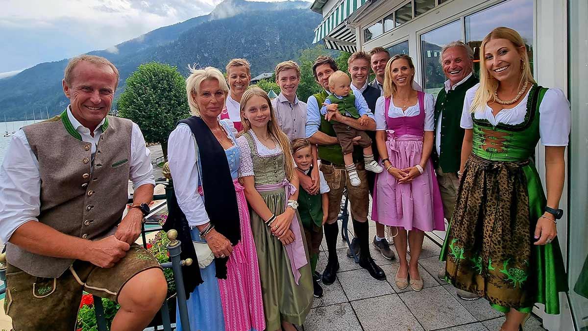 Manfred Krings feierte seinen 80. Geburtstag im Kreise seiner Familie. Foto: Krings