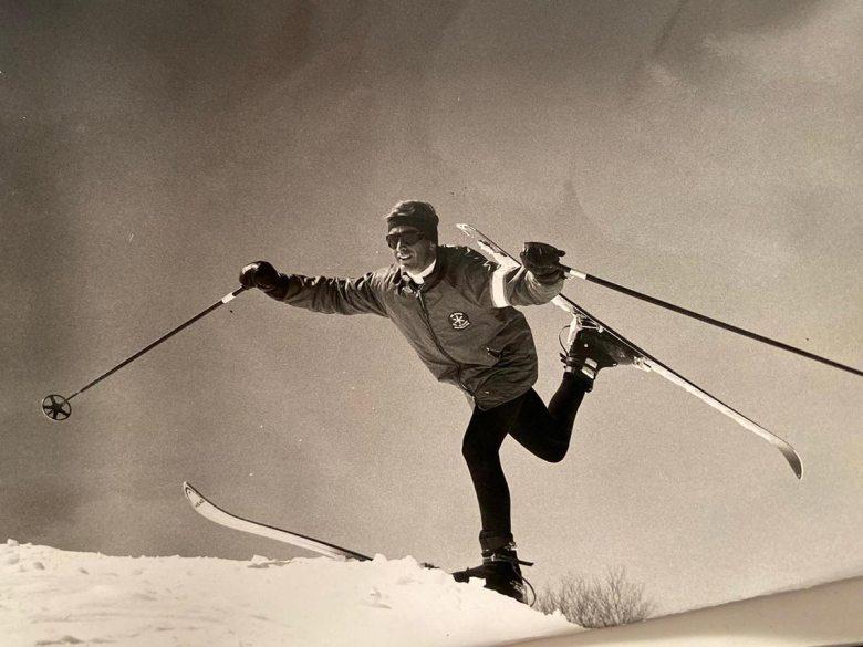 Manfred Krings in den 60er-Jahren. Foto: Krings