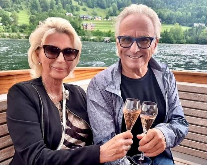Seit 24. Mai 1974 glücklich verheiratet: Lisi und Manfred Krings, hier im Bild bei Manfreds 80. Geburtstag. Foto: Krings