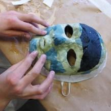 Foto: Maske wird bearbeitet
