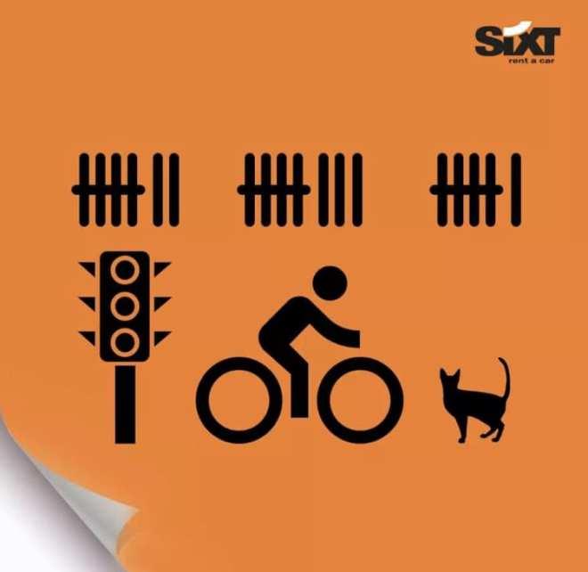 diese depperten Radfahrer
