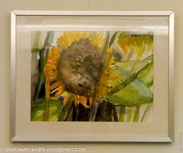 Eva Neumann - Sonnenblume-2
