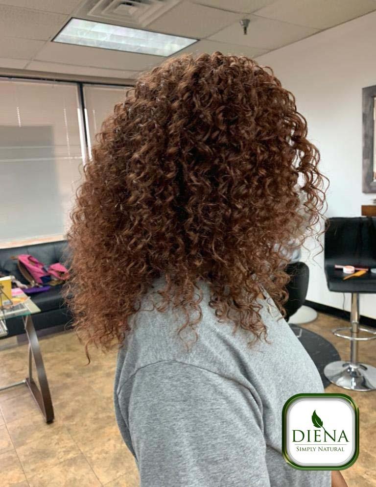 Crochet Braids with FreeTress Beach Curly Hair - DSN Braiding - Diena Simply Natural