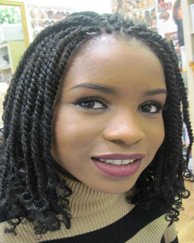 Kinky Twist from Diena Simply Natural (DSN Braiding)