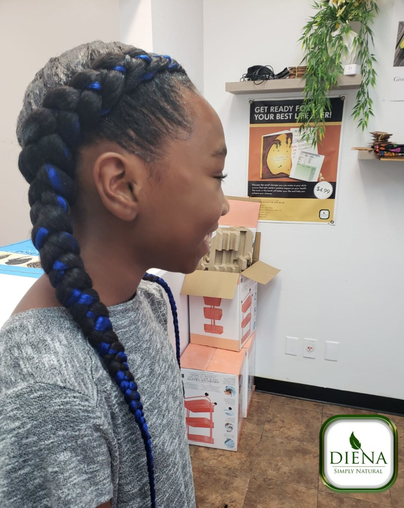 Two Feed In Braids - DSN Braiding