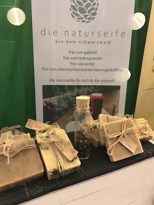 naturseife kaufen auf messen kostenlose Beratung palmoelfrei biologisch vegan
