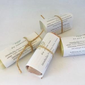Körperseifen Probierset als Geschenk verpackt