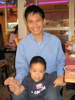 Quang & bé Chồi