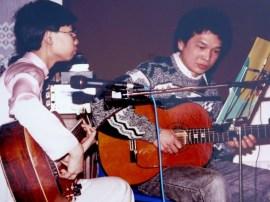 Diễm & anh Trang Bá Tùng