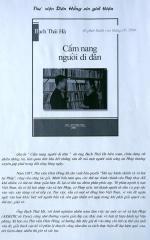 """01-05-2000 - Paris : Ra mắt quyển """"Cẩm nang người di dân"""" của bác Bạch Thái Hà"""