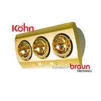 Đèn sưởi nhà tắm Kohn Braun KN03G