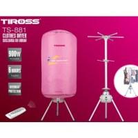 MÁY SẤY QUẦN ÁO TIROSS TS-881, CÓ ĐIỀU KHIỂN