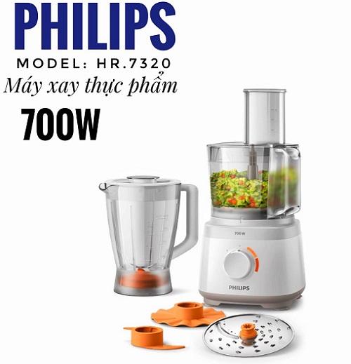 Máy xay chế biến thực phẩm philips hr7320