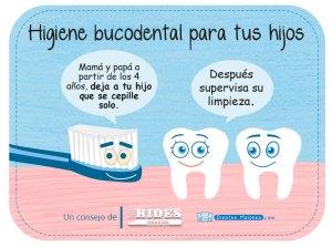 Consejo de higiene bucodental para tus hijos