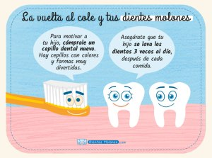 La vuelta al cole y los dientes molones de tus hijos