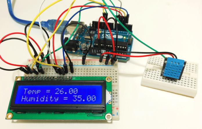 Đo nhiệt độ và độ ẩm dùng DHT11 và Arduino