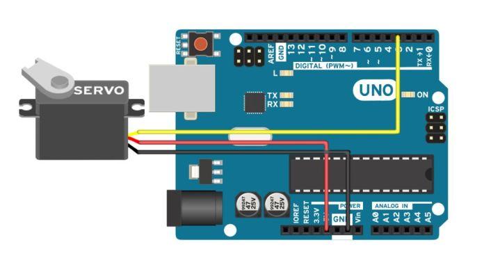 Điều khiển động cơ servo dùng Arduino
