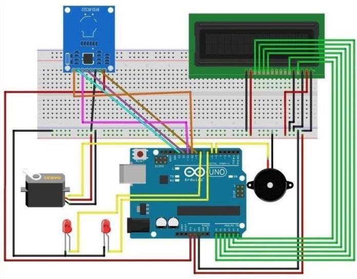 Đóng mở cửa tự động dùng RFID và Arduino