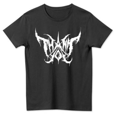 メタルTシャツ_black