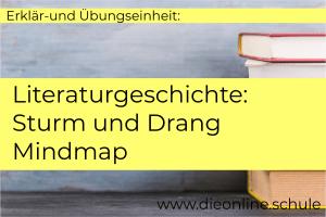 stürm und drang Epoche deutsch schule Nachhilfe überblick