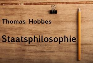Hobbes staatsphilosophie