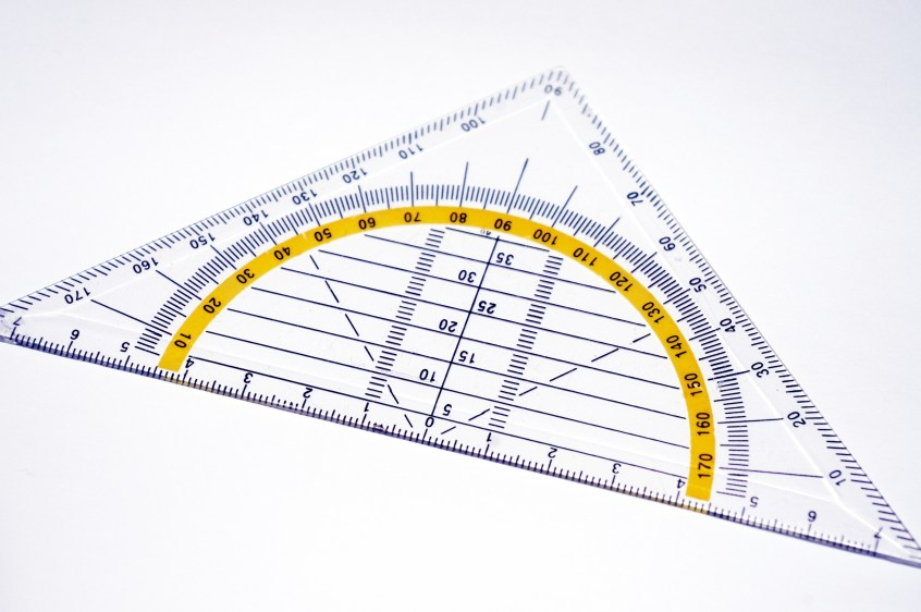 Geodreieck Winkel messen kostenlos