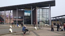 Zwischen Kreisverwaltung und Bahnhof