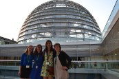 Anne, me, Livia, and Morgan at the Reichstag!