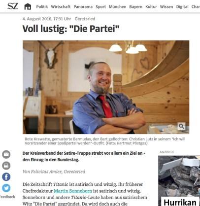 KV Bad Tölz Die PARTEI