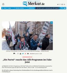 Ja zur Bundestagswahl, Nein zu AfD