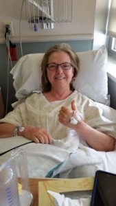post operative DIEP flap recovery