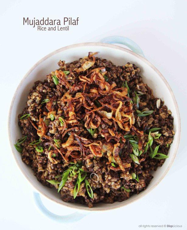 rice n lentil pilaf
