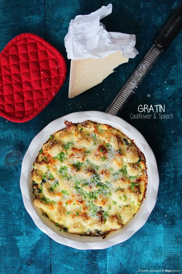 cauliflower gratin FP
