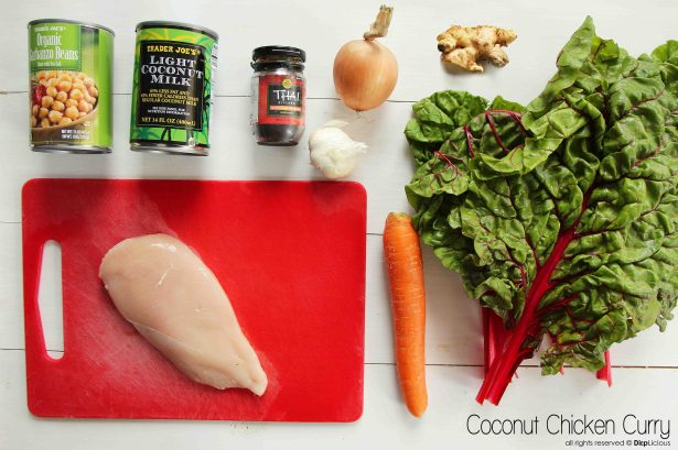 coconut chicken curry_I