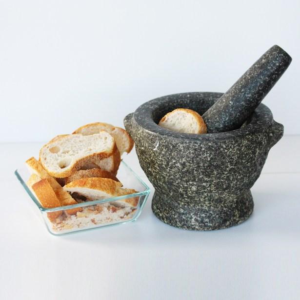 Preparing for breadcrumbs